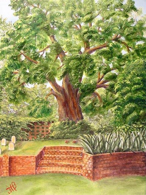 Mepkin Abbey Painting