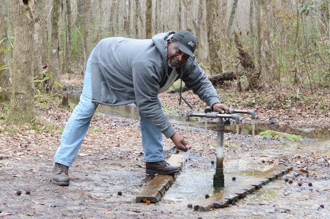Make Landy of Leesville at the Healing Springs