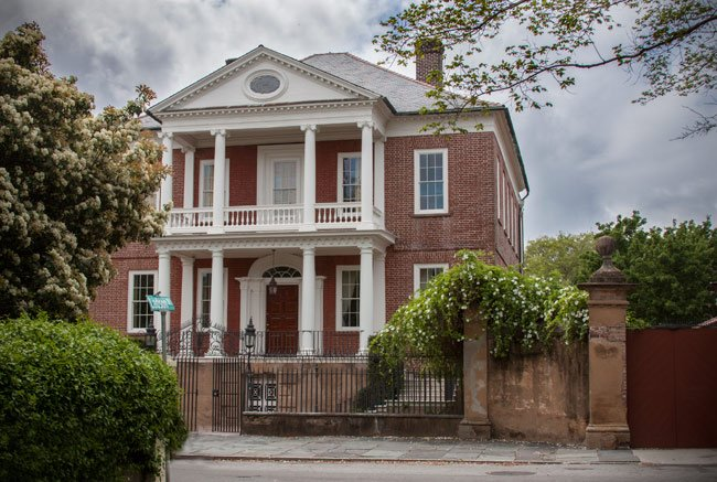 Miles Brewton House Charleston