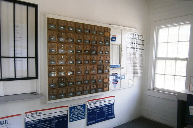 Miley Post Office Interior