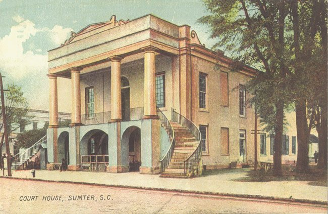 Mills-Inspireed Courthouse Sumter