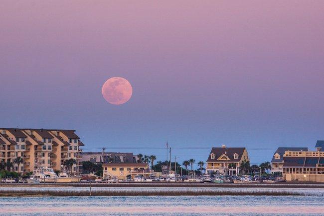 Moonrise at Murrells Inlet