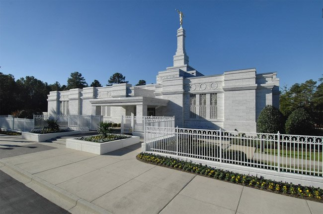 Mormon Temple Columbia SC