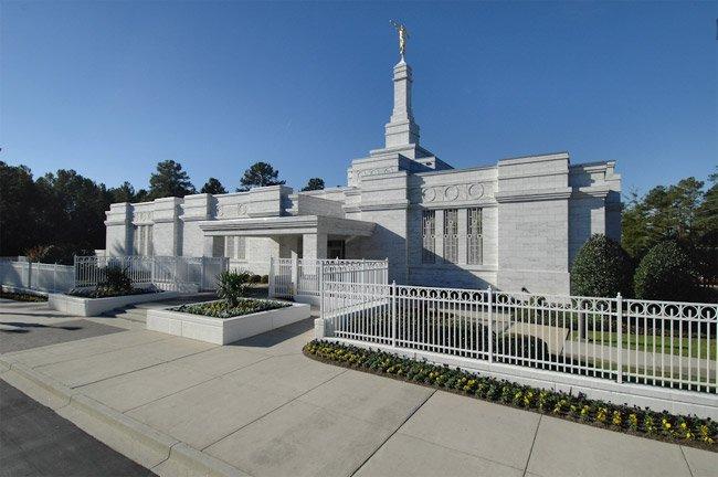 Mormon Temple Columbia SC