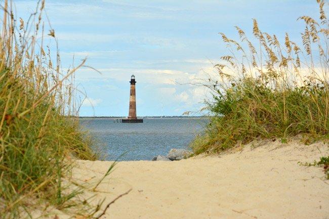 Morris Island Lighthouse Dunes