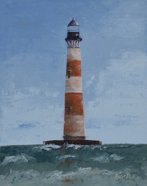 Morris Lighthouse Painting