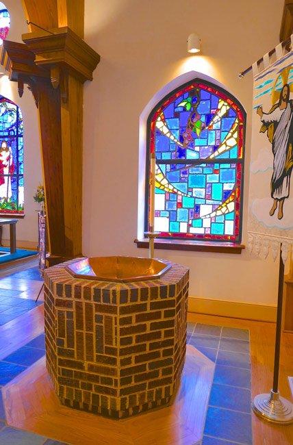 Mount Pleasant Baptismal Font