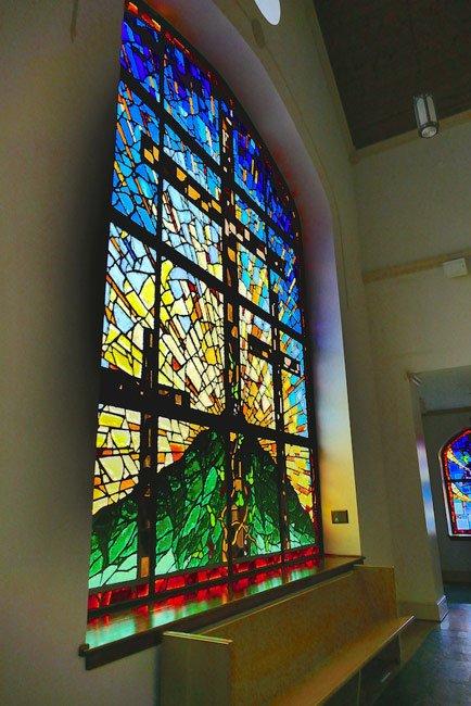 Mount Pleasant Lutheran Window