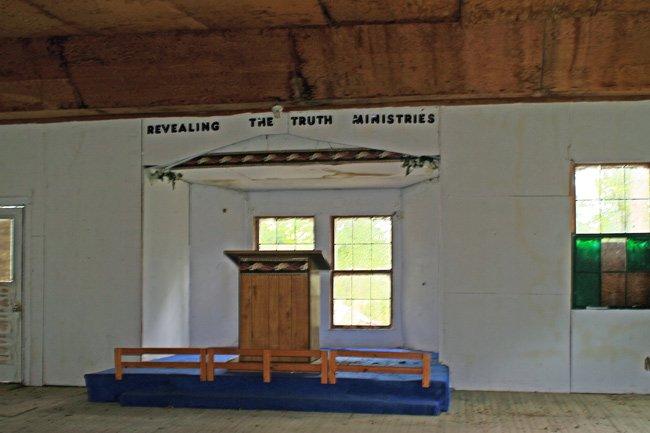 Mt. Nebo Interior