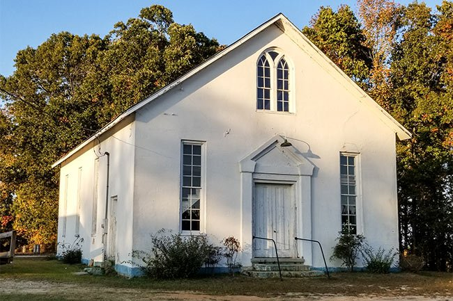 Mt. Olivet Presbyterian Church Front View