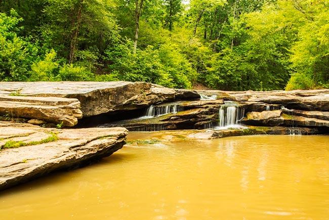 Musgrove Mill Horseshoe Falls Clinton