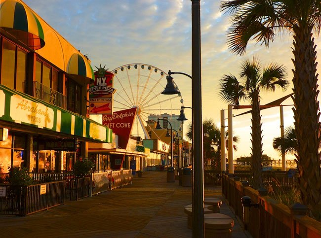 Myrtle Beach Boardwalk Horry County