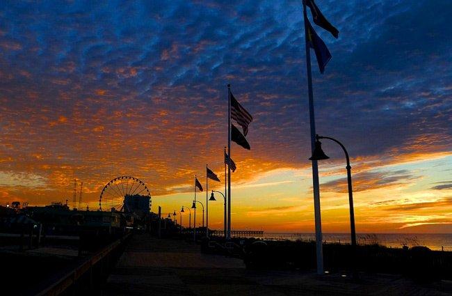 Myrtle Beach Boardwalk Night