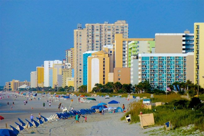 Myrtle Beach Grand Strand This Image Is Copyrighted You May Not Use It Without Written Consent