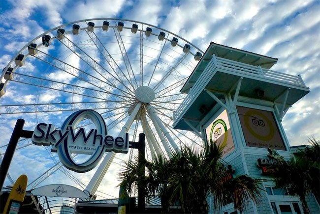 Myrtle Beach Skywheel Attraction