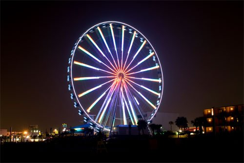 Where Is The Ferris Wheel At Myrtle Beach