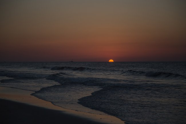 Myrtle Beach State Park Sunset