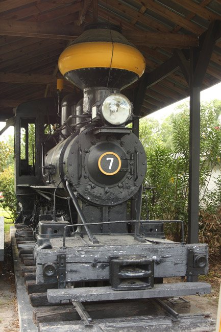 Narrow Gauge Locomotive Hardeeville
