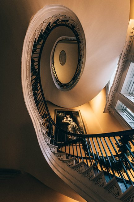 Nathaniel Russell House Stairway