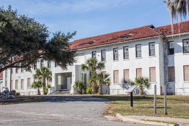 Navy Hospital Main Building
