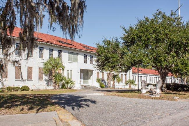 Navy Hospital Main Entrance