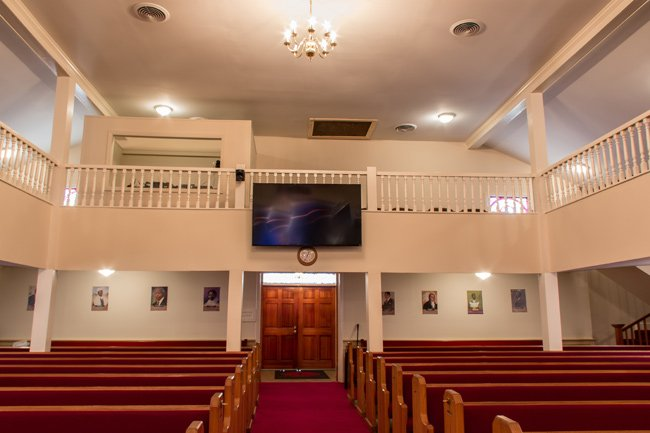 New First Missionary Interior