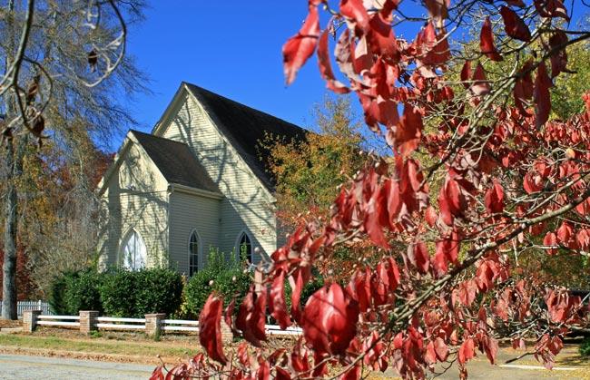 Newry Church Oconee