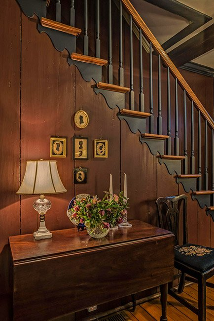 Nicholls-Crook House Stairs