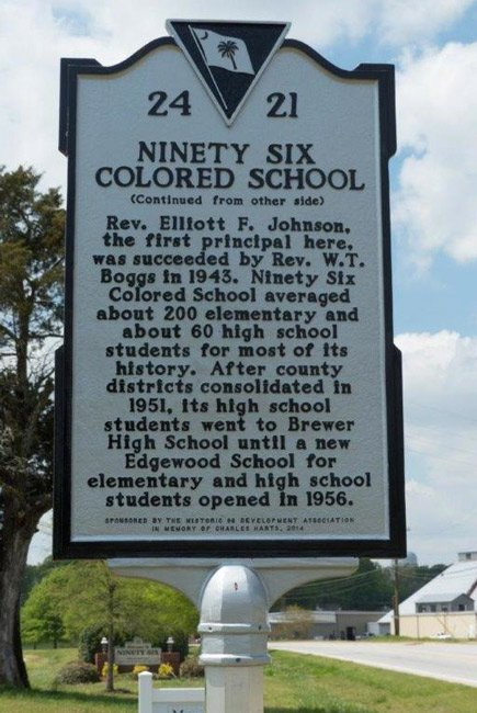 Ninety Six Colored School