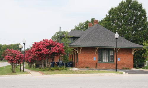 Ninety Six Train Depot