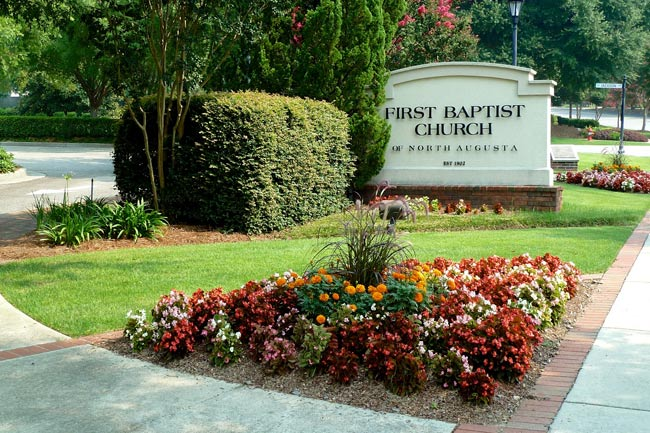 North Augusta Baptist Sign