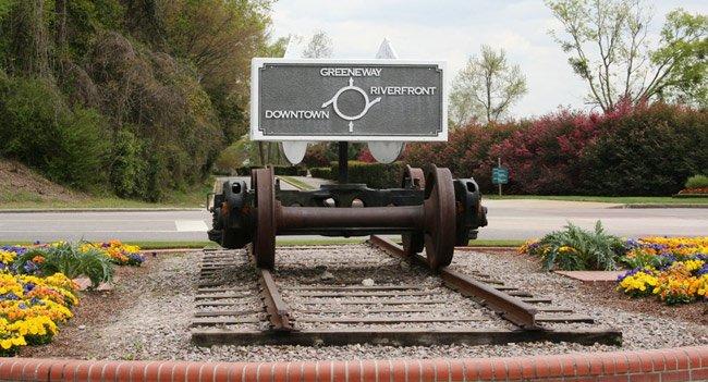 North Augusta Greeneway Sign