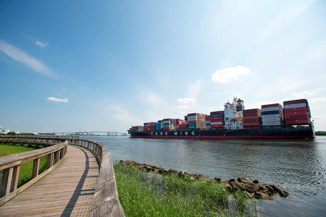 North Charleston Cargo Ship