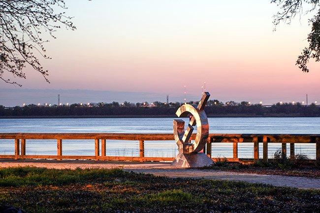 North Charleston Riverfront Park Sculpture