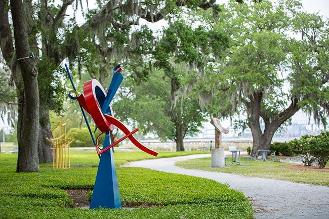 North Charleston Riverfront Park Sculpture Exhibit