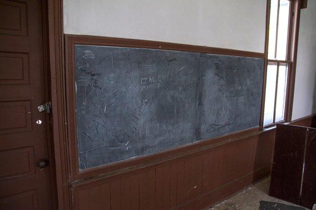 Oakdale School Chalkboard