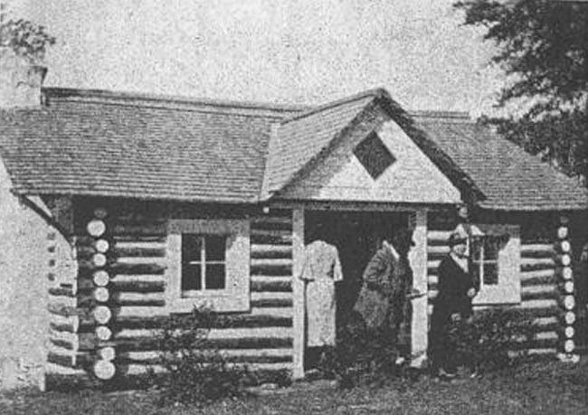 Oberlin Unit Faith Cabin Library in Seneca