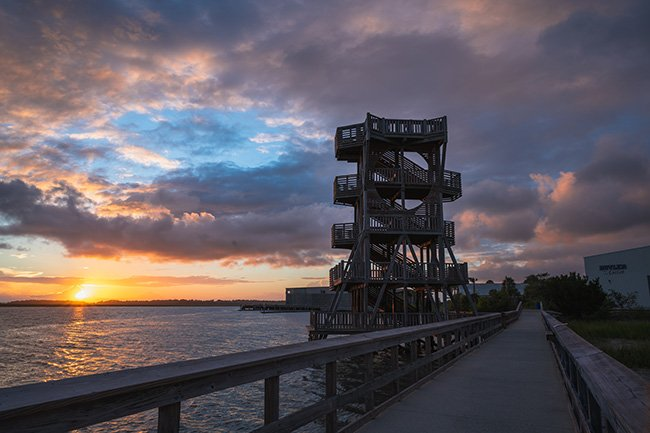 Sands Beach Observation Tower