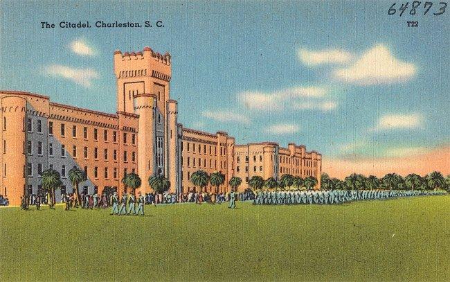 Old Citadel Postcard