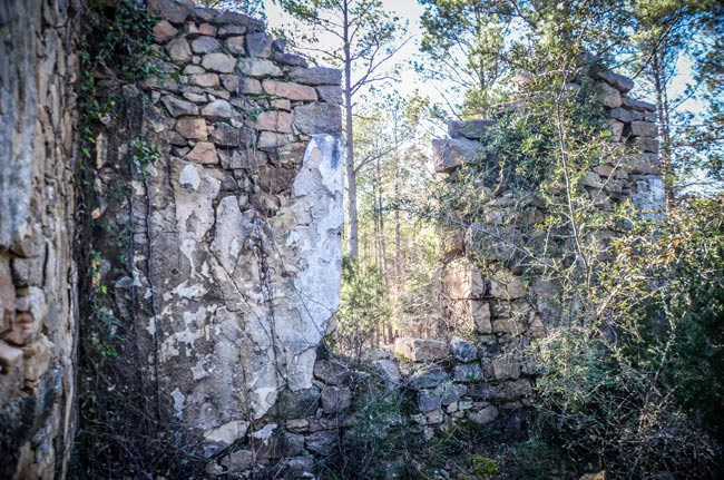 Old Lebanon Ston Ruins