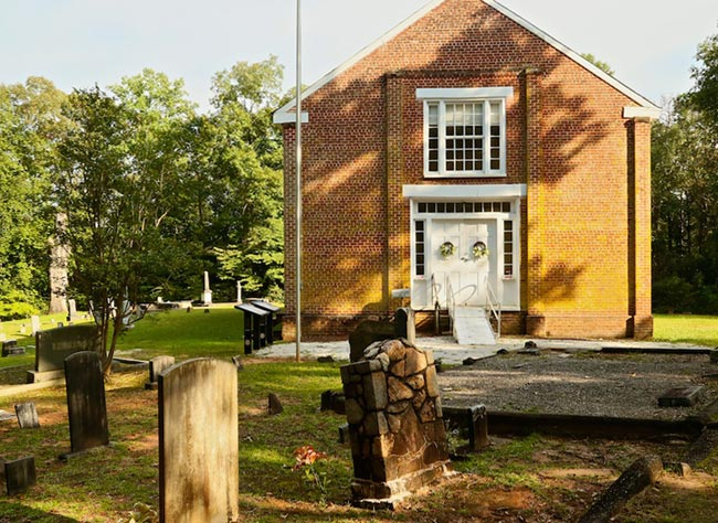 Old Pickens Presbyterian Church Cemetery