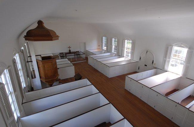 Old St David's Interior