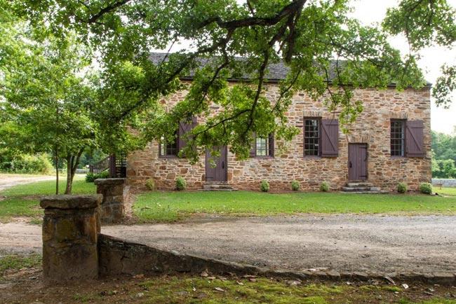 Old Stone Church Entrance