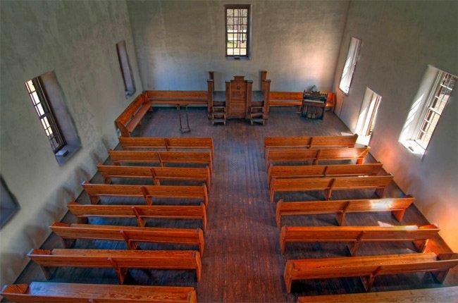 Old Stone Church Interior