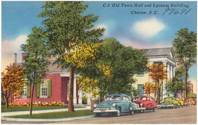 Old Town Hall Lyceum Cheraw