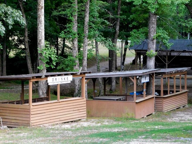 Oolenoy Community Center Booths