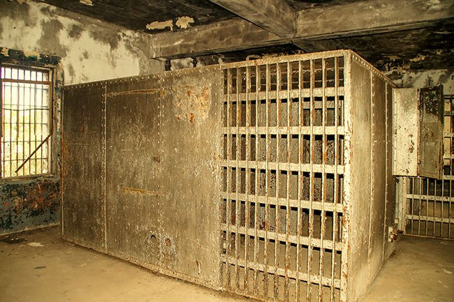 Orangeburg County Jail Interior Cell