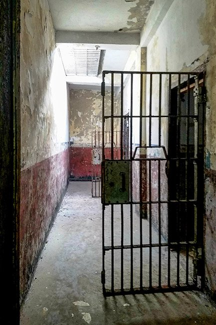 Orangeburg County Jail Interior Hallway