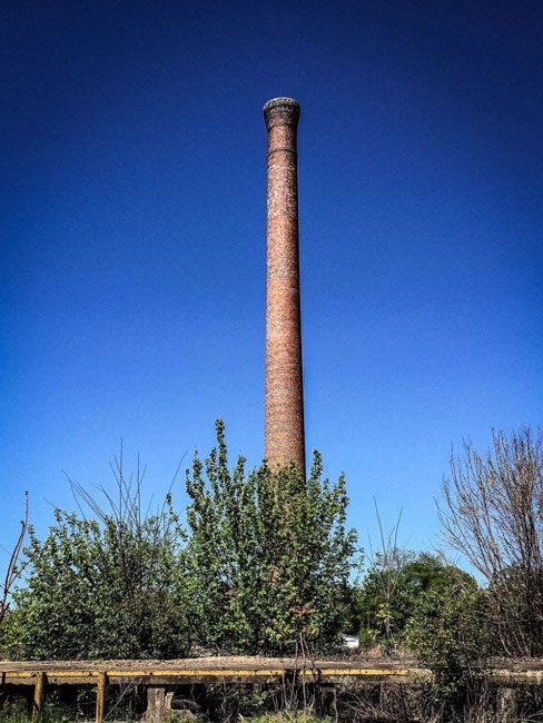 Orr-Lyons Mills Smokestack