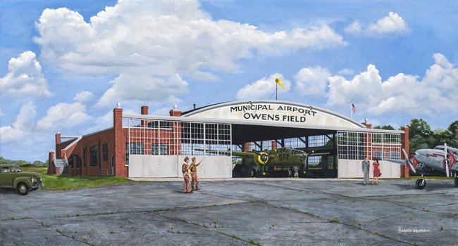 Owens Field Painting